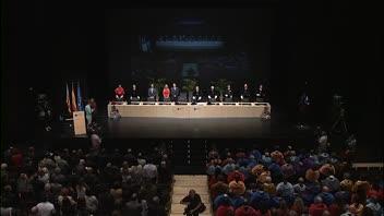 L'UJI ha inaugurat el curs de les universitats de la Comunitat Valenciana