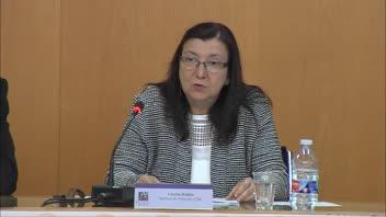 Concha Roldán reivindica a l'UJI l'actualitat de Leibniz a l'hora d'afrontar la situació ètica i política d'Europa