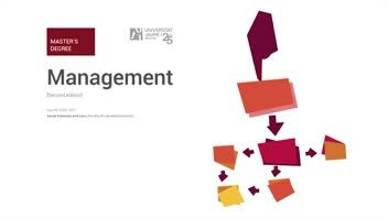 Imatge vídeo Màster Universitari en Direcció d'Empreses / Master in Management